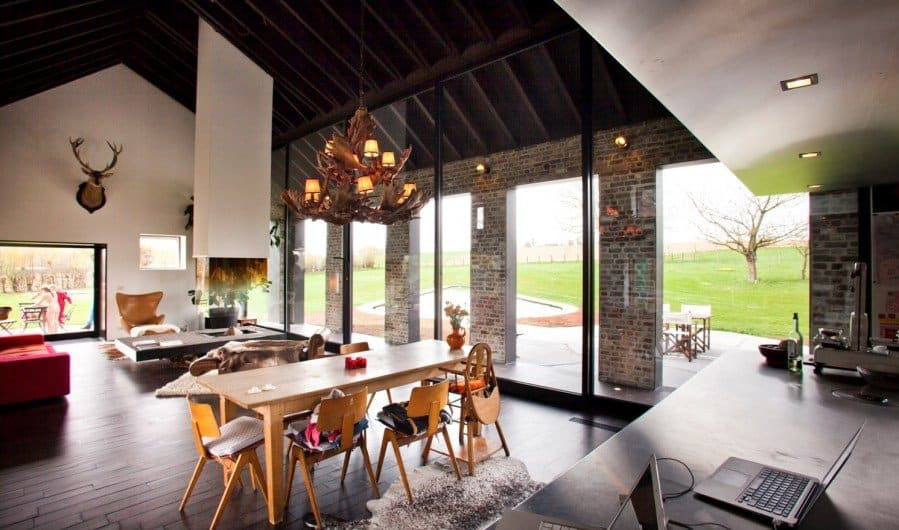 Old Farmhouse Turned Contemporary By Studio Farris