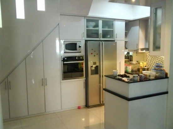 Under Stairs Kitchen Cabinets That Look Amazing | Kitchen Under Stairs Design | Stair Case | Wet Bar | Basement Stairs | Living Room | Basement Kitchenette