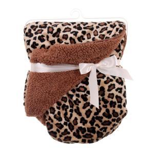 Babyfilt Leopard Multi
