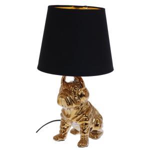 Bordslampa Bulldog Guld