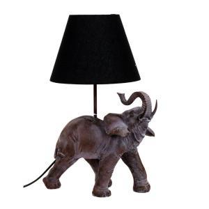Bordslampa Elefant Brun/Grå