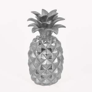 Dekoration Ananas Silver