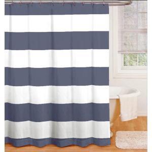 Duschdraperi Stripe Blå