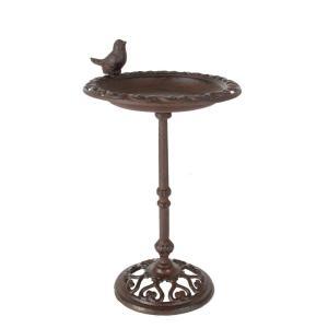 Fågelbad Sala fågel Antikbrun