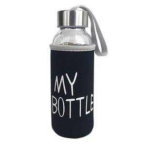 Flaska My bottle 400Ml Klar/Svart