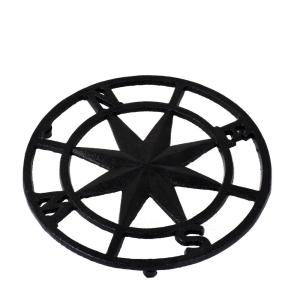 Grytunderlägg Kompass Svart