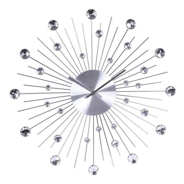 Klocka Prisma Silver