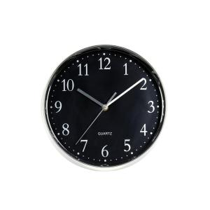 Klocka Ronneby Silver/Svart