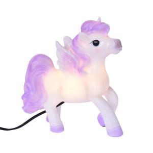 Ledlampa Häst Lila/Vit
