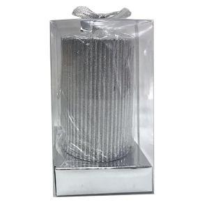 Ljus Pelare Silver