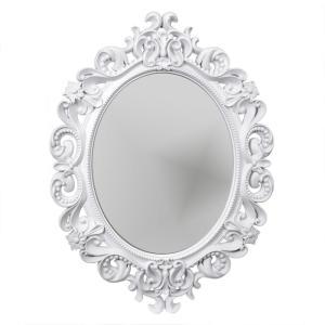 Spegel Amelia Vit