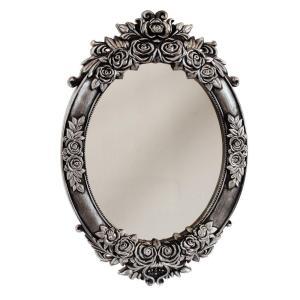 Spegel Ros Silver