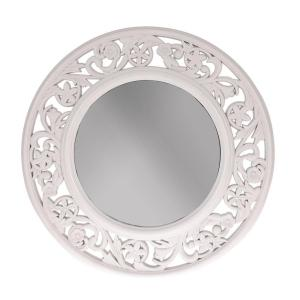 Spegel Rund Vit