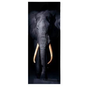 Tavla Elefant Svart/Vit