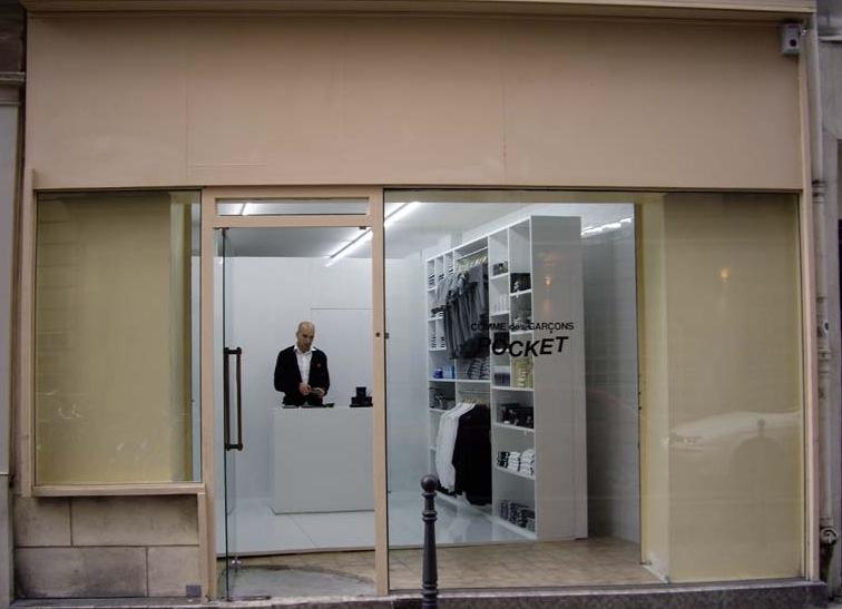 Comme Des Garcons Pocket Store Paris