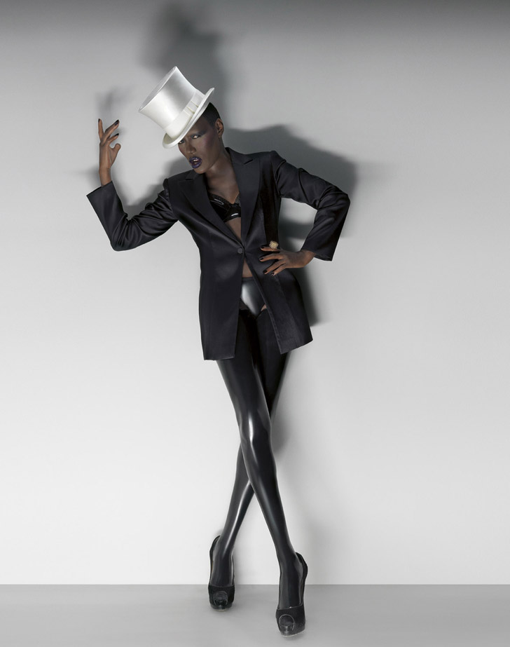 Grace Jones by Andrea Klarin  Trendland