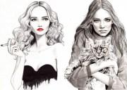 myltan fashion illustrations