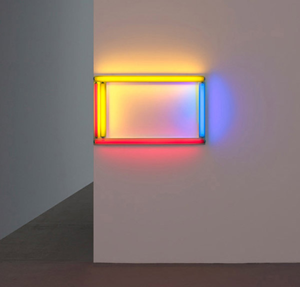 Dan Flavin Fluorescent Light Fixtures