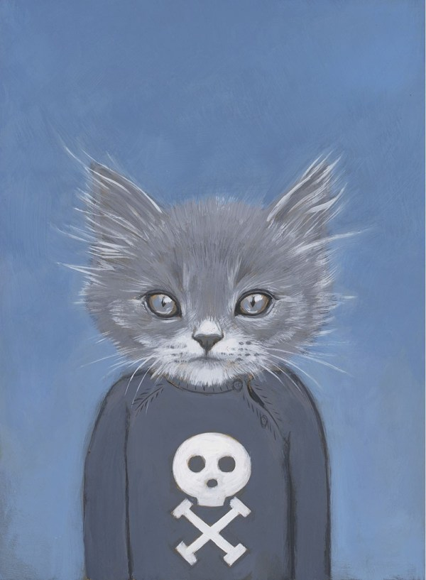 Heather Mattoon Cats In Clothes Paintings