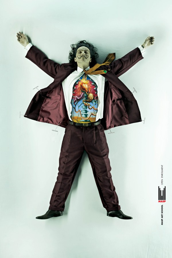 Famous Artists Dissected Masp Art School Ad Campaign