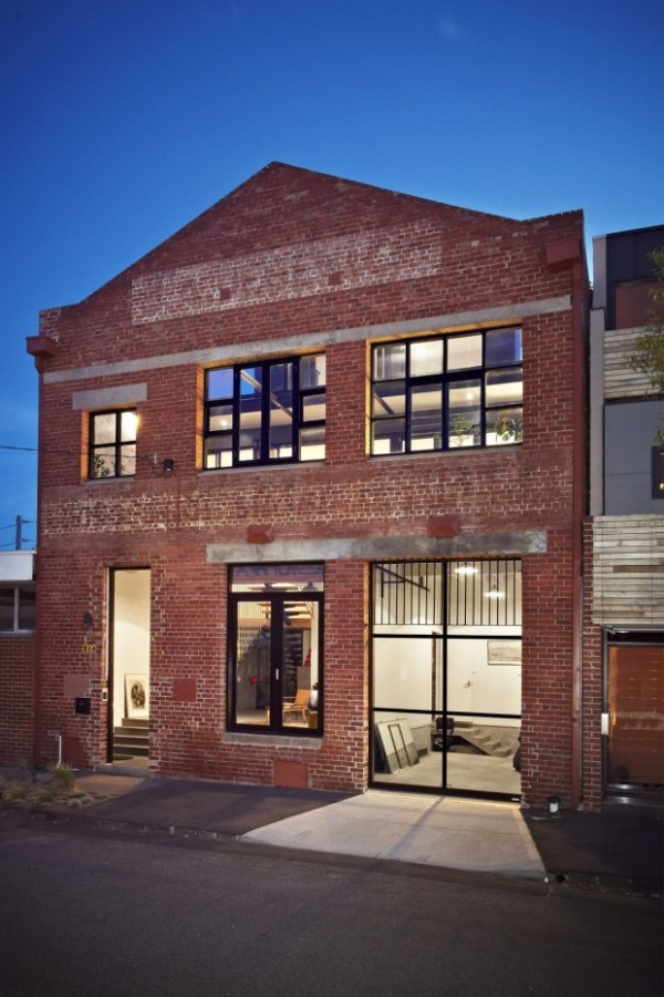 Today ... & TrendHome: Warehouse Turned Into 2 Lofts In Melbourne
