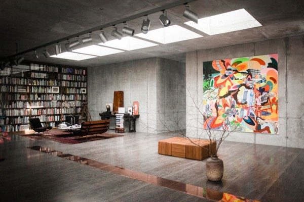 Penthouse Berlin christian boros s concrete penthouse in a war bunker