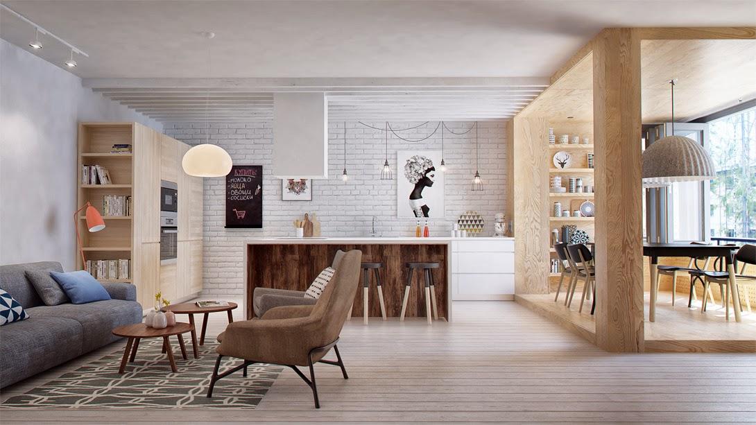 Scandinavian Minimalism Meets Mid Century Interior Inspiration Scandinavian Living Room Design Minimalist
