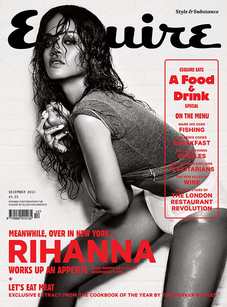 rihanna-by-ellen-von-unwerth-for-esquire-cover