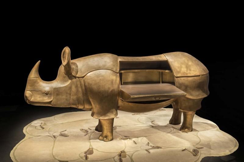 Gallery-Botella-Francois-Xavier-Lalanne-Rhinocretaire-4