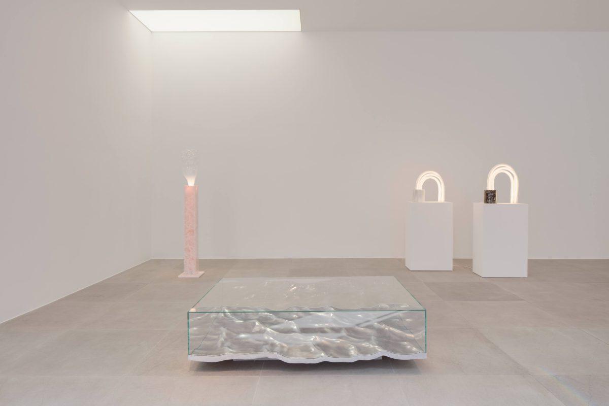 Mathieu lehanneur spring exhibition at carpenters workshop gallery