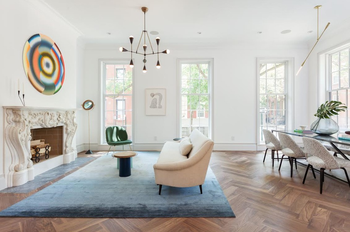 grogeous townhouse in brooklyn heights