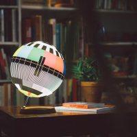 A Design Lamp Capturing a Whole Era of TV History