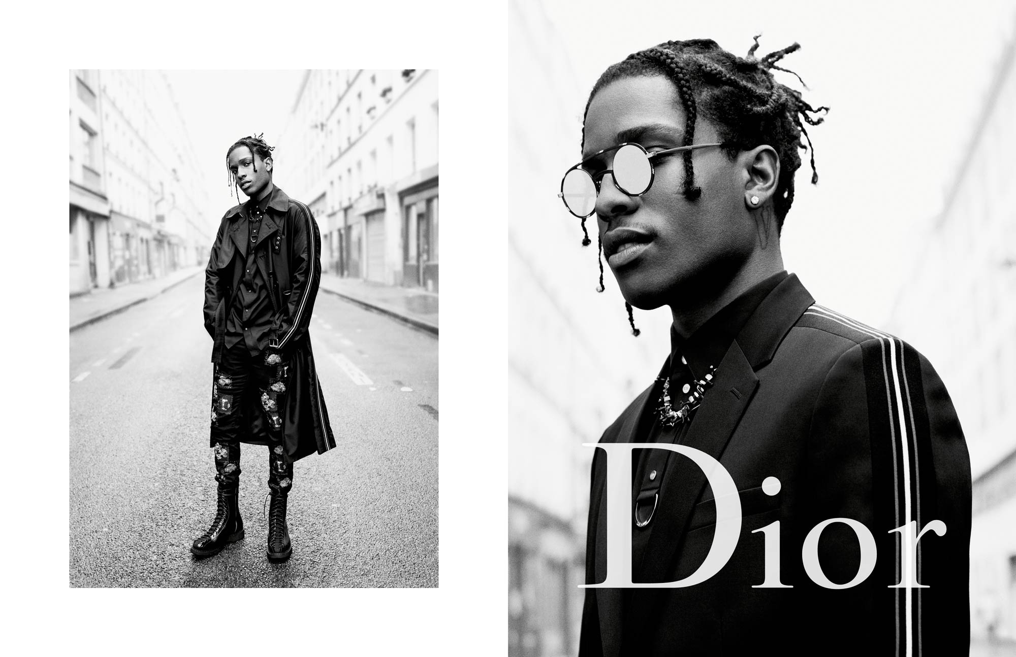 Dior Homme Summer 17 Ad Campaign Feat. A$AP Rocky & Boy ...