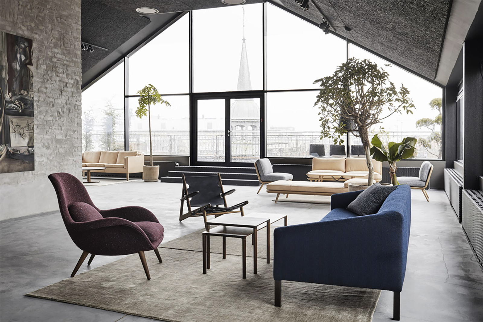 Fredericia Opens New Rooftop \'Living Showroom\' | Trendland
