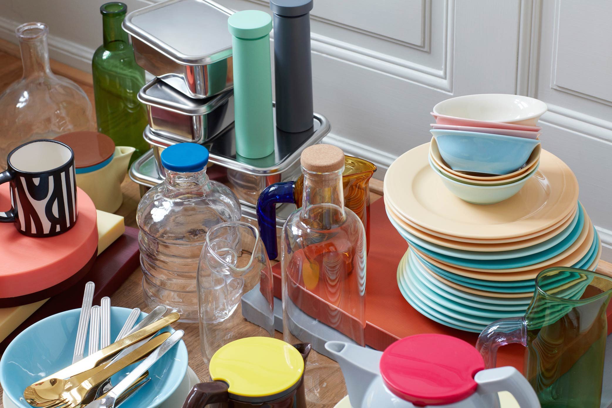 Bon HAY Kitchen Market Is Exclusively Available At MoMA Design Store Through  The End Of The Year.