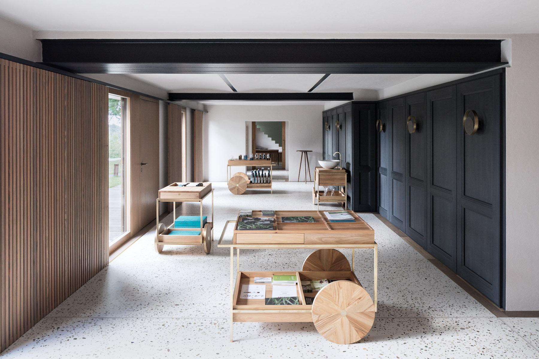 The wine cellar is located under a typical southern styrian farmhouse which originally served as a living space as well as producing wine. while the ... & Minimalist Winery with a Japanese Feel [Austria] | Trendland