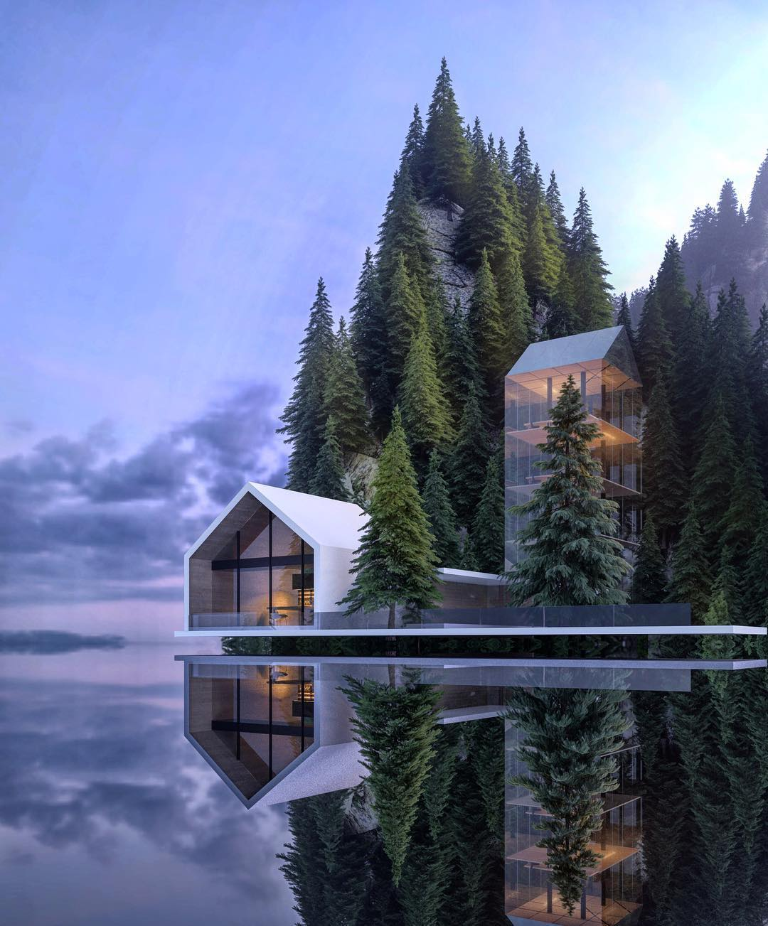 Home Design 3d 2 Story Alexander Nerovnya Architecture By The Lake Trendland