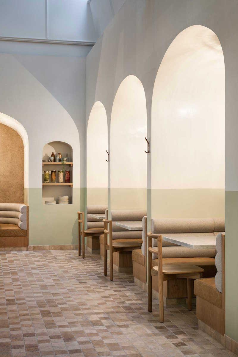 Organic Interior For Oggi Osteria Adelaide Trendland