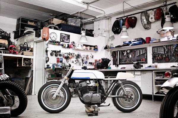 wrenchmonkees custom bikes garage Wrenchmonkees Custom Bikes
