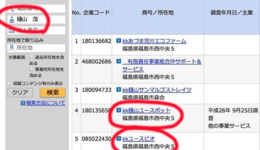 ユースビオ助成金がおかしい!樋山茂社長は過去に脱税していた!!