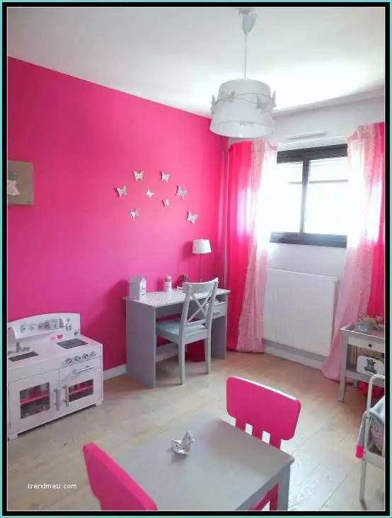 Chambre Fille Rose Et Blanc