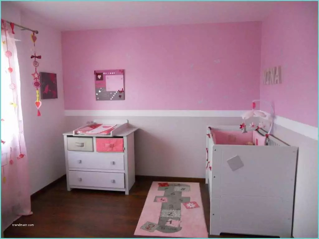 Idee Deco Chambre Fille Rose | Idee Couleur Chambre Bebe Fille