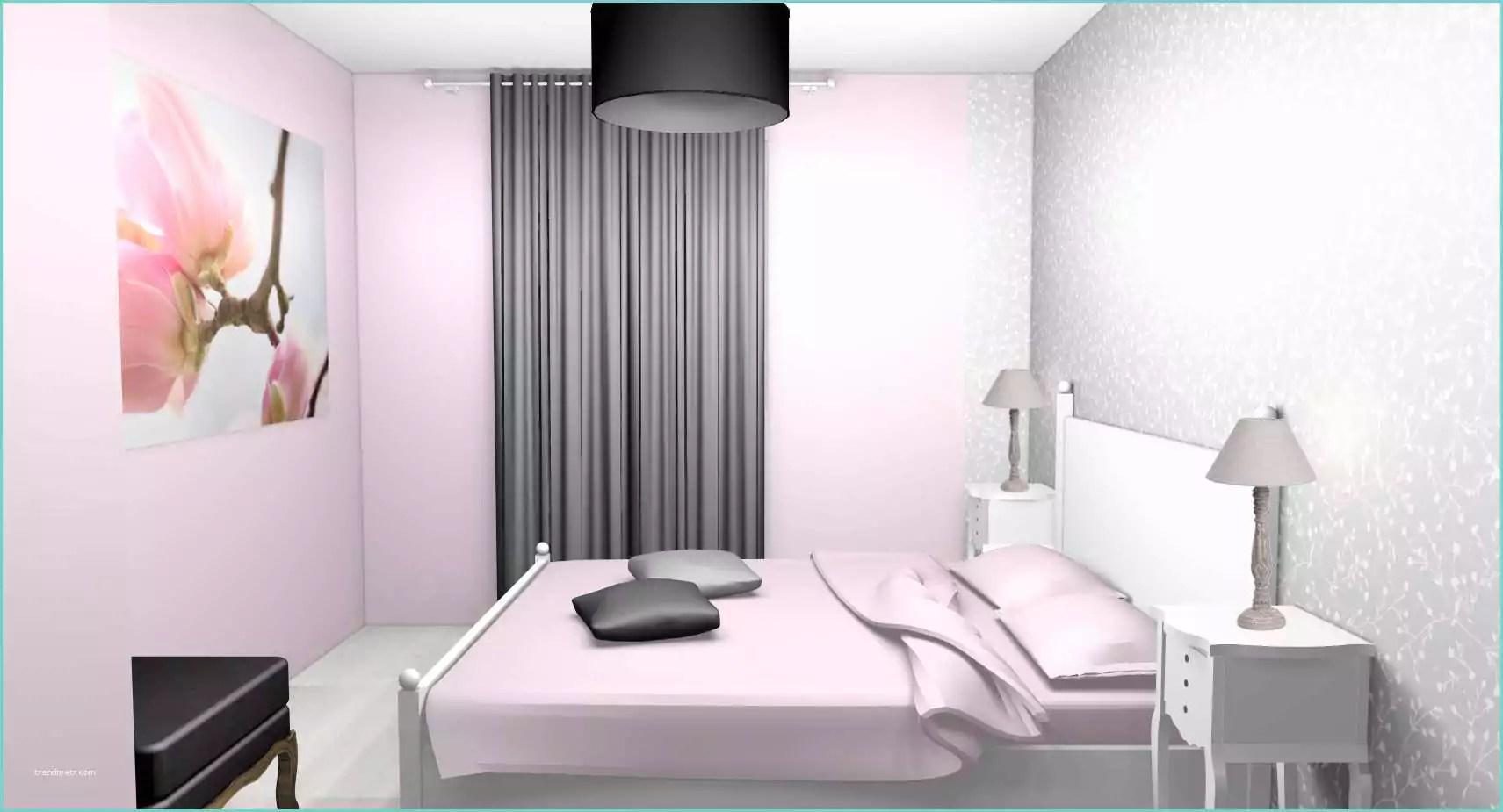Chambre Fille Blanc Et Rose Chambre De Fille Aux Murs Gris Et Fushia Scenesdinterieur  Trendmetr
