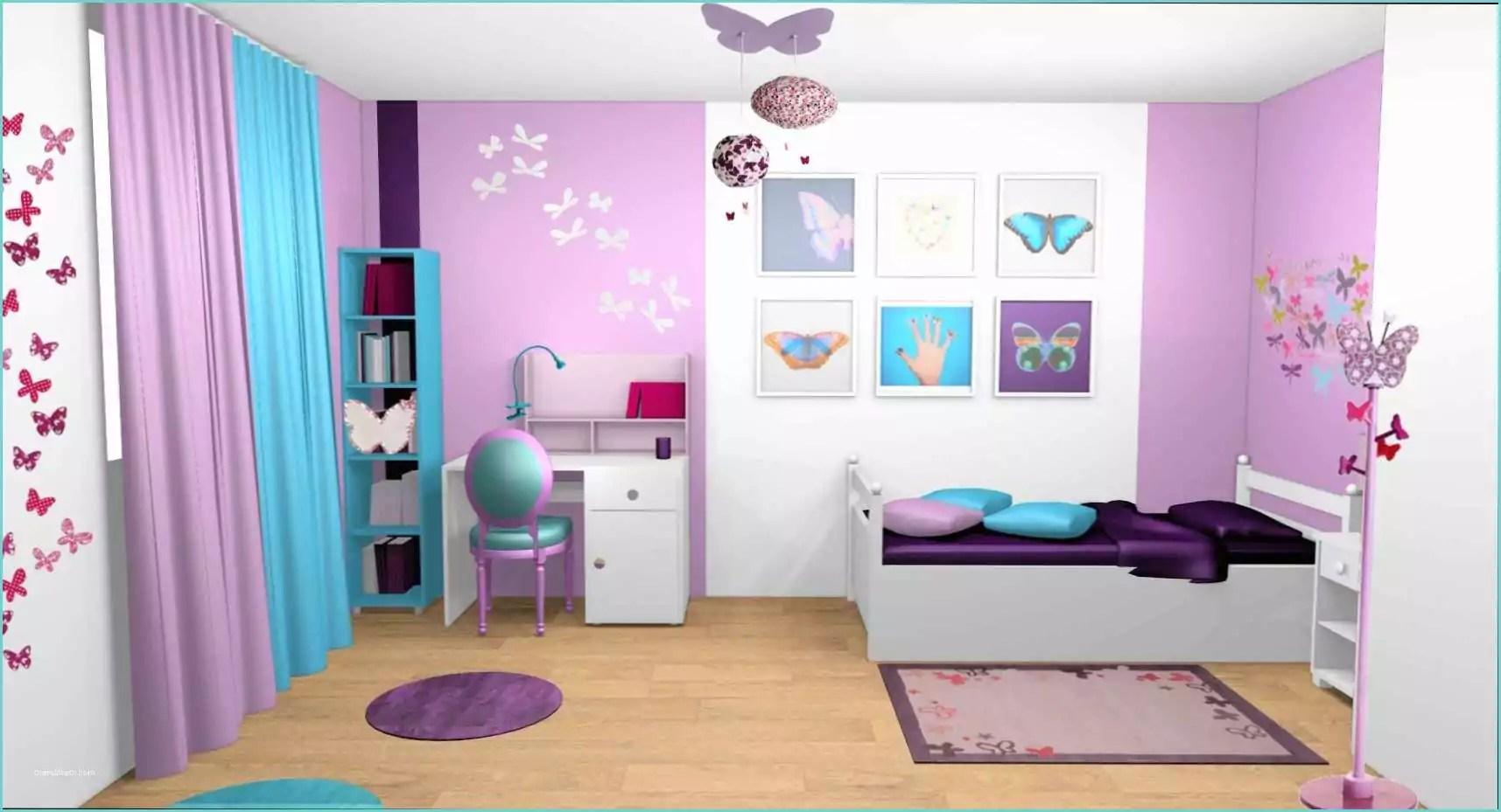Chambre Fille Mauve | Chambre Enfant Chambre Enfant Blanc Et ...
