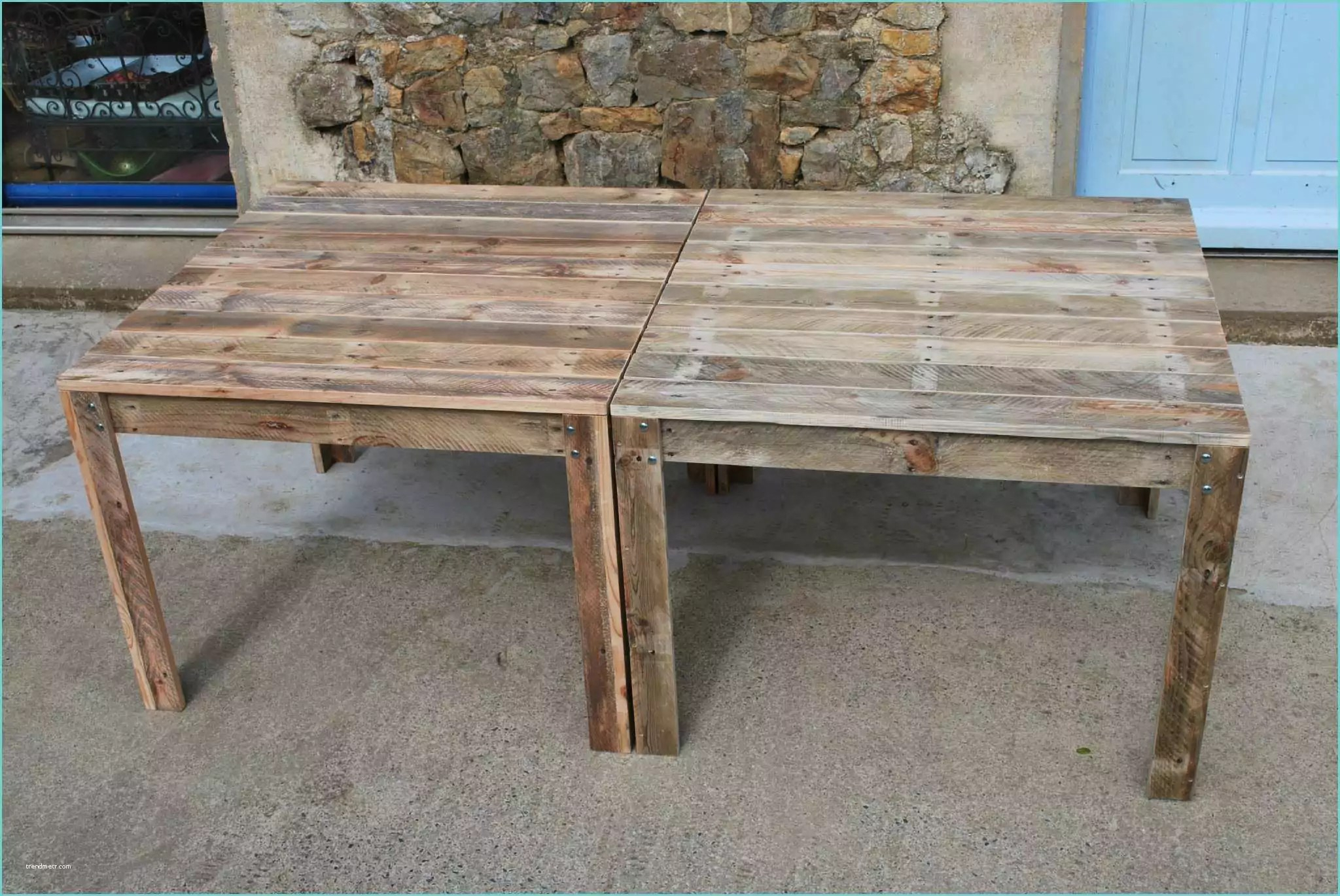 Table De Jardin En Palette Plan - Sunfay.top