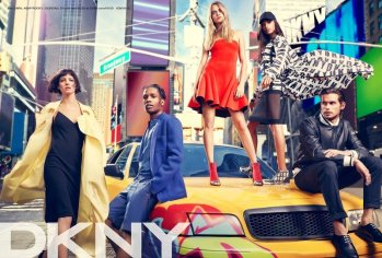 DKNY Spring 2014 Campaign