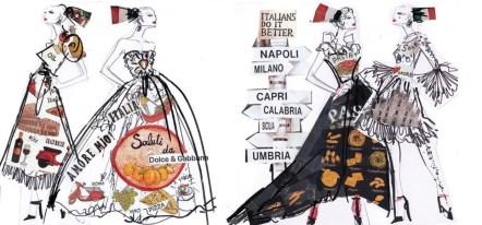 """DOLCE & GABBANA """"Domenico dolce & Stefano Gabbana"""""""