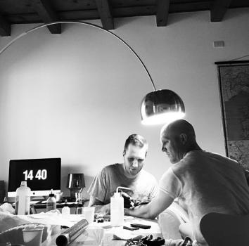 Emil fékk tatto - það fyrsta og síðasta