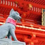 京都 伏見稲荷大社の「狐」は「神様のお使い」