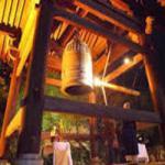 京都 高台寺の除夜の鐘